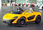 McLaren P1 se vrac� jako elektromobil, ale je jen pro d�ti