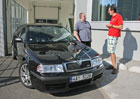 �koda Octavia RS s p�ekvapivou v�dr��: RS po 460.000 km jako nov�