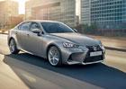 Lexus IS v modernizovan� podob� pro Evropu