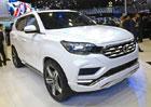 SsangYong LIV-2: Něco jako korejský Mercedes  GLE