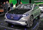 Mercedes-Benz Generation EQ: Elektrick� SUV s 300 kW ujede 500 kilometr�