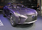 """Lexus UX Concept: Crossover """"naruby"""""""