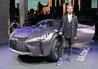 Lexus UX nazna�uje crossover pod NX, tvrd� autor jeho exteri�ru