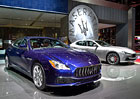 Maserati Quattroporte a Ghibli: Modernizace hlavn� pod kab�tem