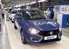 Lada Vesta: 50.000 aut za rok. Je to hodně?