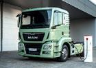 MAN City Truck: Koncept tahače poháněný elektřinou