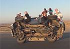 Video: Výměna kola za jízdy? To musíte vidět