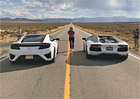 Video: Honda NSX vs Lamborghini Aventador na �tvrt m�le. Kdo vyhraje?