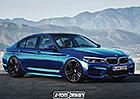 Bude takto vypadat nov� BMW M5?