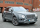 Kr�tk� rande s Bentley Bentayga. Jak  jezd� nejluxusn�j�� SUV sv�ta?