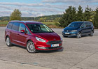 Ford Galaxy 2.0 TDCi AWD vs. VW Sharan 2.0 TDI 4Motion – Praktičtí dinosauři