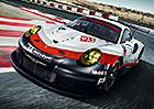 Porsche 911 RSR šokuje motorem uloženým uprostřed!