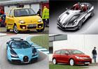 Deset aut pojmenovaných po slavných závodnících. Podivnosti i legendy!