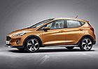 Nový Ford Fiesta můžete mít jako crossover Active i luxusní Vignale