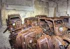 Nacistický poklad? V lomu se našly desítky aut z druhé světové války