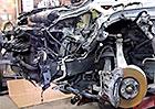 Video: Porsche Cayenne po čelním nárazu zase jako nové