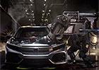 Video: Hondu Civic X 5D vyrábí Transformeři!