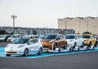 Nissan Leaf může posloužit i jako autonomní tahač přívěsů
