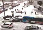 Video: Kanadské klouzání aneb nezastavitelný autobus nebo policejní vůz