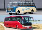 Setra a 65 let jejích autobusů ve velké galerii