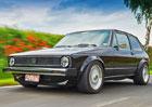 VW Golf 928 s osmiválcem a zadním pohonem. Proč je tohle úprava naruby?
