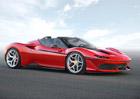 Ferrari se inspirovalo u Lamborghini. Nové J50 je velice futuristický speciál