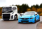 Volvo Trucks The Iron Knight a Volvo S60 Polestar TC1 změřili své síly (+video)
