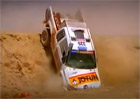 Nejdivočejší havárie na rallye Dakar (video)