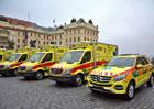 Pražští záchranáři převzali desítku sanitek. Jedna přišla na 3,2 milionu