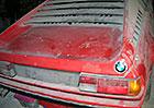 BMW M1 se skrývalo v prachu 34 let! Najeto nemá skoro nic...