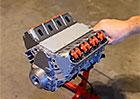 Video: Funkční motor V8 z 3D tiskárny