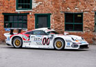 Porsche 911 GT1 číslo 104: Německá bestie může do provozu a je na prodej
