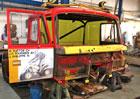 """Tatra renovuje T815 6x6 VE """"Ostrý II"""" z rallye Paříž-Alžír-Dakar 1986"""