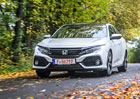 Honda Civic X má české ceny. Litrový základ pod 400.000 Kč neseženete