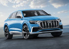 Audi Q8 oficiálně: Koncept plug-in hybridu má 330 kW a jezdí za 2,3 l/100 km