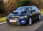 Unikátní Škoda Octavia belgické policie: Knight Rider v akci na vlastní kůži