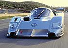 Mercedes-Benz C291 (1991): Prototyp s plochým dvanáctiválcem a neskutečným zvukem