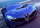 Alfa Romeo C18: Takto by mohl vypadat velký sporťák od Alfy