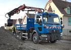 Renault Trucks řady D a bezpečná zimní jízda