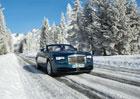 Jízdní dojmy: S Rolls-Roycem na sněhu. Miliony v driftu!