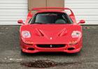 Na prodej je Ferrari F50 Mika Tysona. Bezvadnému stavu odpovídá také cena