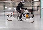 Hoversurf Scorpion-3 je motorka, která se skutečně vznáší (2x video)