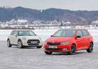 Mini One vs. Škoda Fabia 1.2 TSI Monte Carlo – Výbavou našlapaná Fabia, nebo základní Mini?