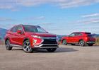 Mitsubishi Eclipse Cross oficiálně: Konkurent qashqaie má novou patnáctistovku