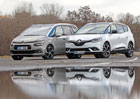 Citroën Grand C4 Picasso 2.0 BlueHDi vs. Renault Grand Scénic 1.6 dCi – Francouzští grandi