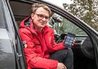 Vyzkoušeli jsme speciální tablet řidiče: K čemu vlastně slouží?