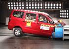 Global NCAP: Indický Chevrolet Enjoy bez airbagů nezískal ani hvězdičku!