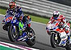 Motocyklová VC Kataru 2017: MotoGP vyhrál po boji s Doviziosem Maverick Viñales