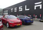 Prodej vozů Tesla ve čtvrtletí stoupl o 4,5 procenta