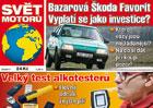 Svět motorů 15/2017: Škoda Favorit jako investiční ojetina